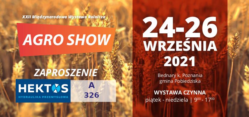 Agro Show invitation